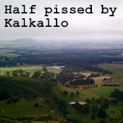 Half pissed by Kalkallo